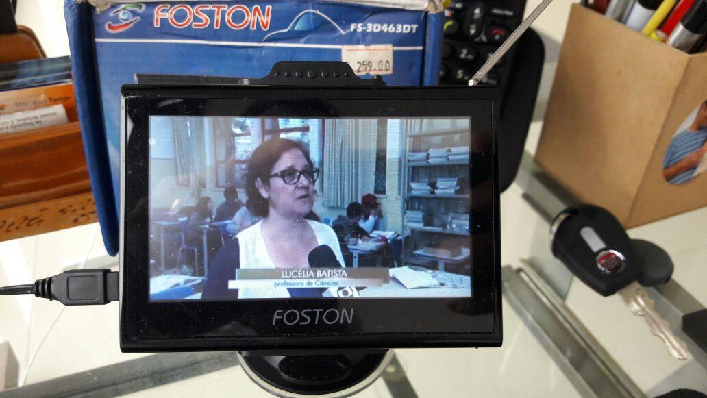 GPS Foston com TV digital