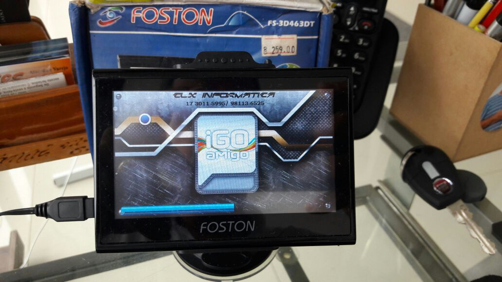 GPS Foston com TV digital