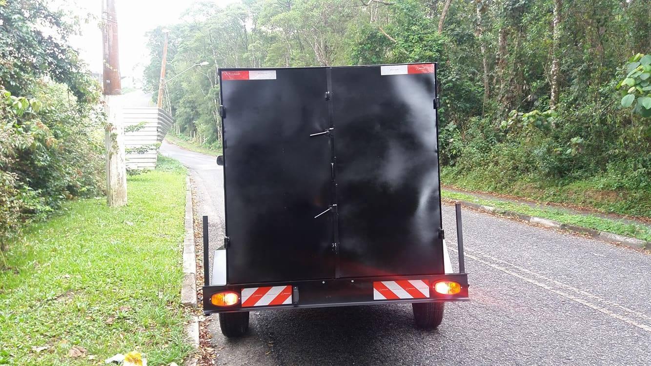 Carretinha Bau Food Truck Carrocinha São Bernardo