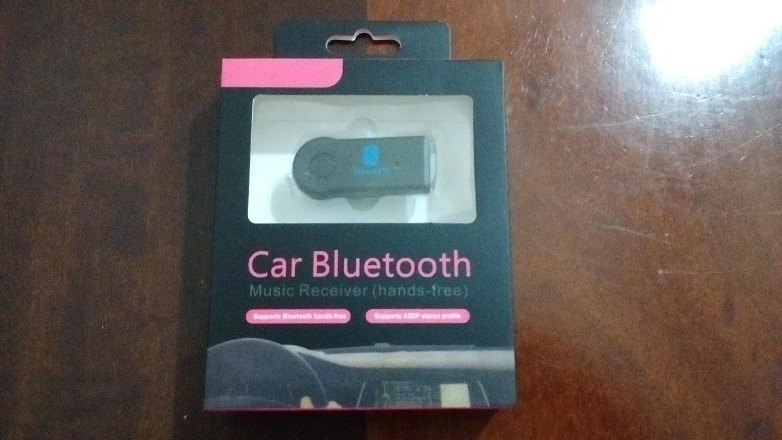 Receptor Bluetooth áudio P2 músicas e chamadas do celular R$ 25,00