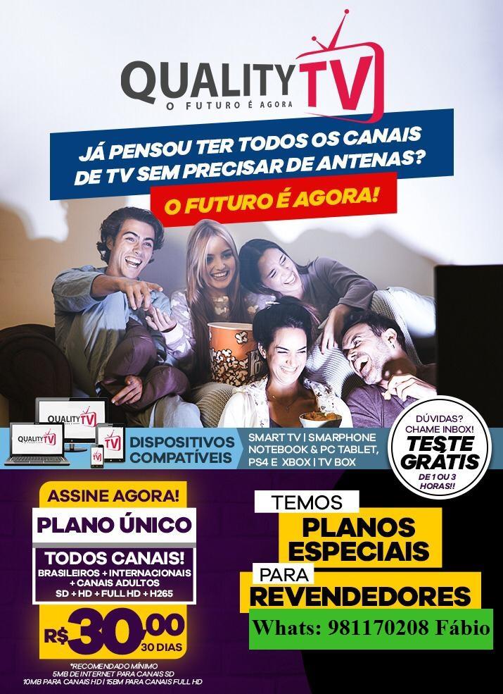 TRANSFORME SUA TV EM UMA SMART E ASSISTA TODOS OS CANAIS POR APENAS R$30,00 MENSAIS